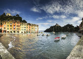 Portofino, famous tourist resort of Riviera Ligure — Stock Photo