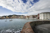 Bay of silence, Sestri Levante — Stock Photo