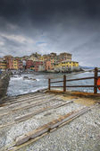 Boccadasse, a small village of Genoa — Stock Photo