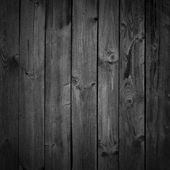 Black dark wood background or texture — Stock Photo
