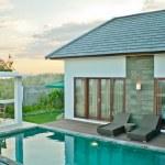 Island villa — Stock Photo