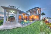 Tropical villa — Stock Photo