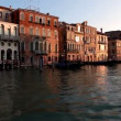 Venice, sea, gondola, sunset in Venice — Stock Video #13453487