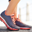 The perfect running shoes - Stock Photo