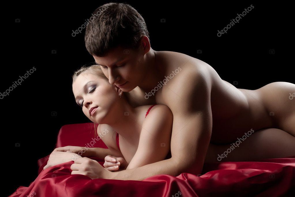 image Hot couple having passionate ass sex
