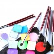 Set of cosmetic products for professional makeup — 图库照片