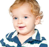 Portrait of an adorable baby — Stock Photo