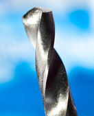 Macro of drill bits — Stock Photo