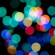 Color bokeh — Stock Photo