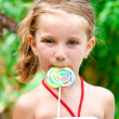 Royalty-Free Stock Photo: Girl with candy
