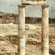 ancient columns — Stock Photo