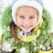 Girl winter vacation — Stock Photo #19257343