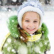 Girl winter vacation — Stock Photo #19257679