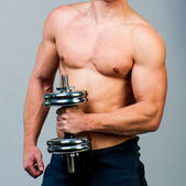 Uomo muscoloso — Foto Stock