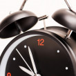 Black alarm clock — Foto de stock #21729595