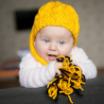 Pretty baby of tender — Stock Photo