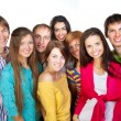 Happy young group of — Stock Photo #21731343