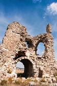 Ruins of wall — Stock Photo