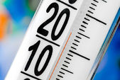 Thermometer scale — Stock Photo