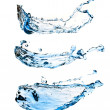 Royalty-Free Stock Photo: Set of water splashes
