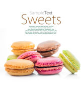 Cookies macaroon — Stock Photo