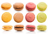 Set cookies macaroon — Stock Photo