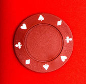 Poker chip — Stock Photo