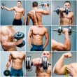 Stock Photo: Muscular man