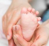 Baby's foot — Stockfoto