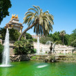 Fountain in Barcelona — Stock Photo
