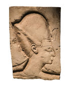 Bas-relief of the Pharaoh — 图库照片