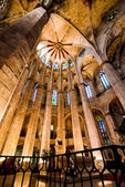 Gothic Cathedral in Barcelona — Стоковое фото