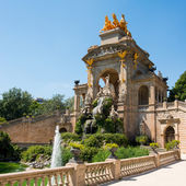 Fountain in Barcelona — Stock Photo