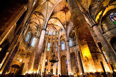 Gothic Cathedral in Barcelona — Stock Photo