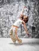 Dancind meisje — Stockfoto