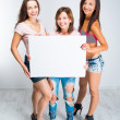 teenage girls — Stock Photo