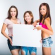 Teenage girls — Foto Stock