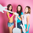 Girls with musical instruments — Stock Photo #28279903