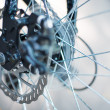 Wheel cycle — Stock Photo