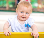 Portrait of adorable baby — Stock Photo