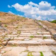Ancient stone road — Stock Photo