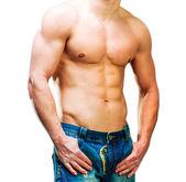 Muscular man — 图库照片