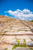 Staré kamenné silnice — Stock fotografie