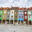 The central square of Poznan — Stock Photo #32172759