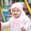 Baby on the playground — Stock Photo