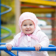Little baby in a swing — Stock Photo #34608069