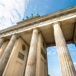 Brandenburg Gate in Berlin — Stok Fotoğraf #37787329