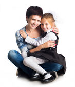 Mother and little daughter — Stock Photo