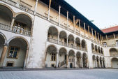 Royal palace in Wawe — Stock Photo