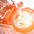 Wheel motorcycle — Stock Photo #38129595
